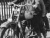 Motorcykeln tas också fram, ännu ett vårtecken med Bengt H.