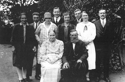 Familjen Johan och Anna Bergman