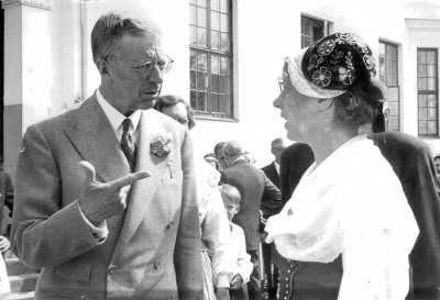 Gustav VI Adolf och Karin Hessling