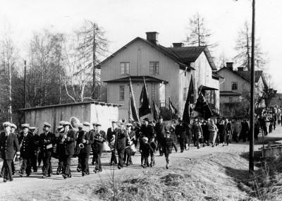Demonstration 1958