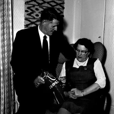 Harry Andersson med hustru Agda