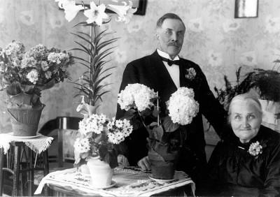 Finn Erik Eriksson med hustrun Britta