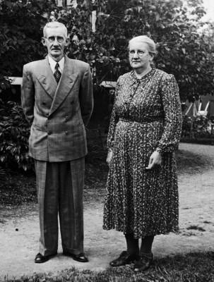 Gustaf och Hulda Hellkvist
