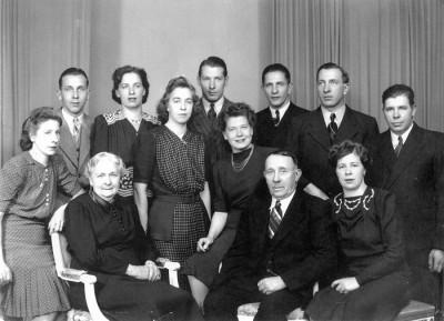 Familjen Axel och Leontina Sandberg