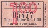 biljett