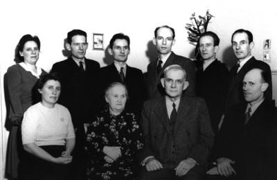 Familjen Fredrik Oskar & Anna Chef