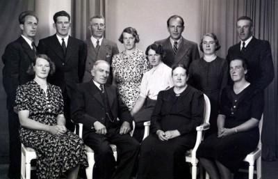 Familjen Fredrik och Emma Eriksson