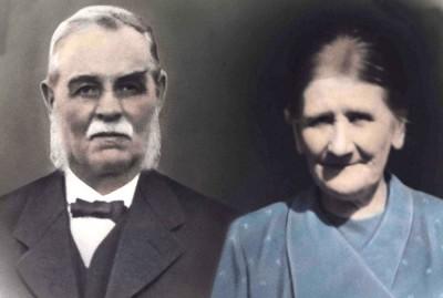 Carl Johan och Hulda Carlsson