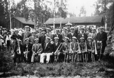 1935 års blåsorkester