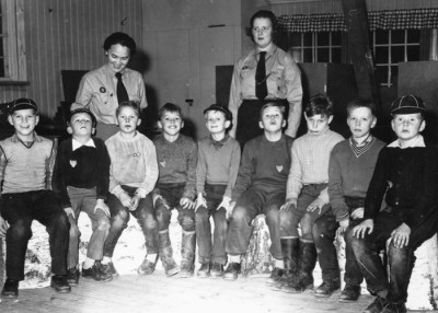 I scouternas barndom