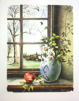 Nils E Johanssons litografi