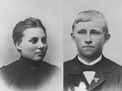 Hanna och Amandus Lysén