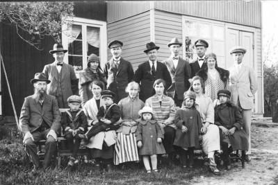 Familjen Carl Erik och Matilda Torstensson