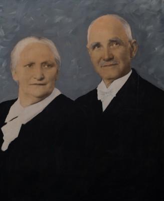 Gustaf och Hilma Bäcklund