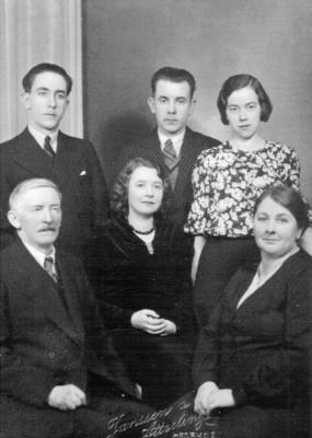 Familjen Karl August och Matilda Sälgström