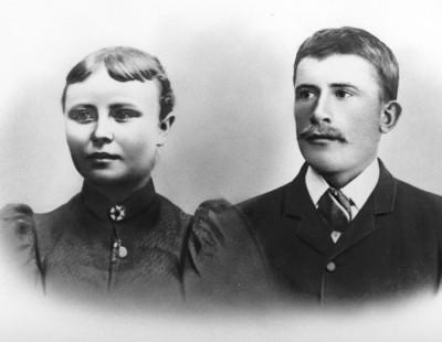 Augusta och Herman Nilsson