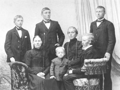 Familjen Johan och Lovisa Lysén