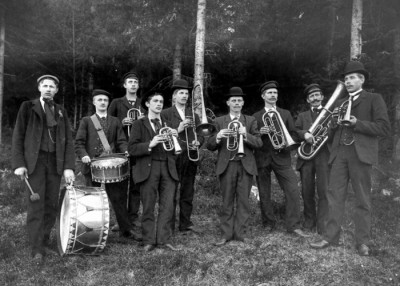 1920-tals musikanter, bild 1