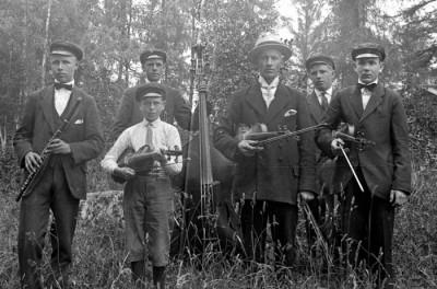 1920-tals musikanter, bild 2