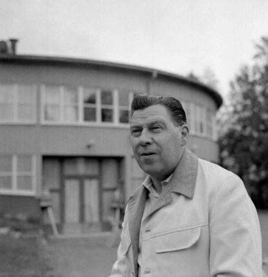 Albin Andersson - föreningens meste ordförande