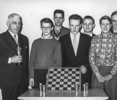 Dalamästare i schack, årgång 1958