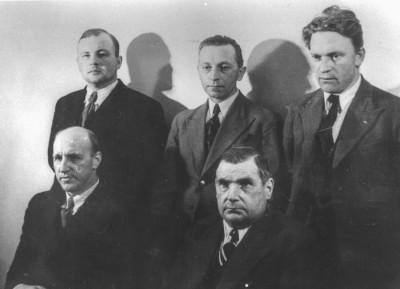 Vikmanshytte-folkan, 1939 års styrelse