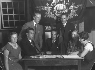 SDUK klubbstyrelse 1932
