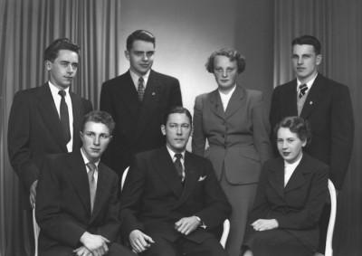 SDUK klubbstyrelse 1950-talet
