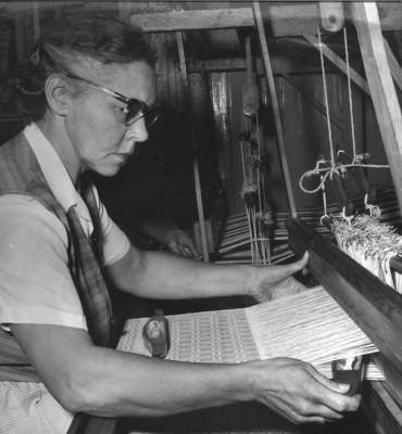 Ester Sundström - representant för det gamla hantverket