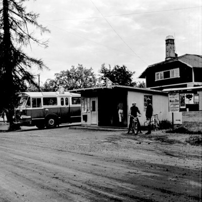Kiosk & busstation
