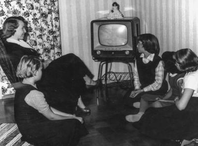 TV hos Sandbergs i Solhaga