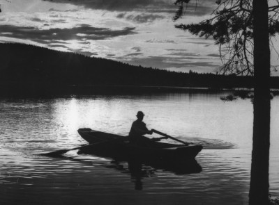 Göran Elg i kvällningen