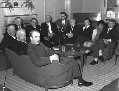 Fackrepresentanter samlade på Brukshotellet i Vikmanshyttan