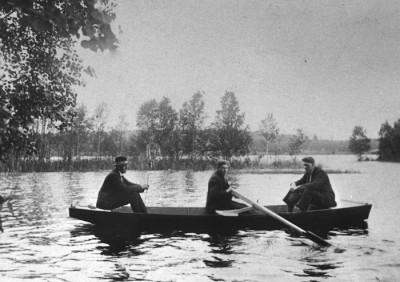 Roddtur på Vikmanshyttesjön
