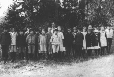 Skolklass 1922