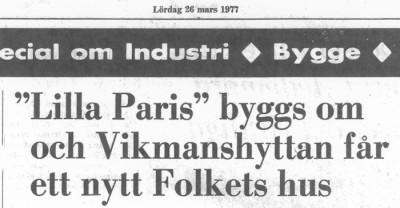 Information i tidningen