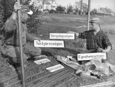 """""""Vägvisare"""" Nils Aronsson & Tage Karlsson"""