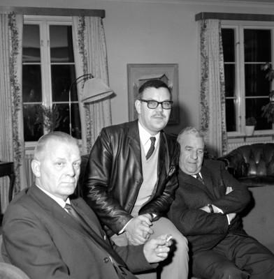 Gösta Larsson, Länarth Brötegård & Nils Landström