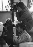 Fotograferna använde flitigt sina kameror
