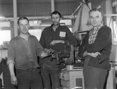 Sven Eriksson, Bengt Eriksson och Sigmund Dawo, några av delägarna i AB Kenda