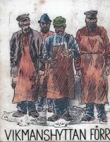 """""""Gamla brukets aristokrater"""" förmedlad via gammal teckning"""