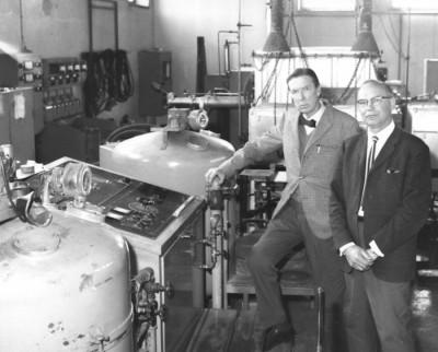 Edvard Norström & kollegan Arne Holmstad