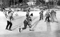 Hockey-bockeyn hörde till vintrarnas begivenheter