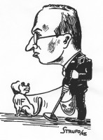 Ivar Sättermark i karikatyr