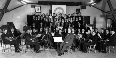 Samlingsbild från Mojsenfesten, 1933