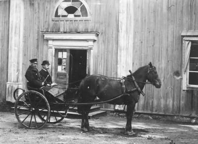 Gustaf Gustafssons hästskjuts