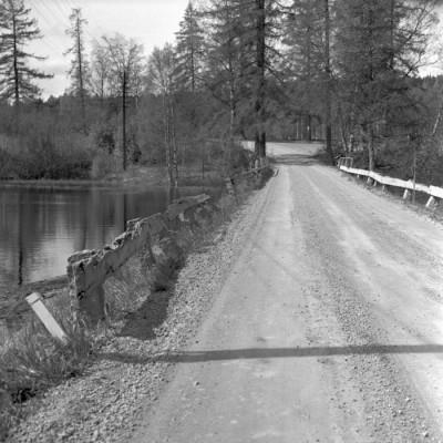 Den gamla kända Stenbron, mellan Vikmanshyttan och Nyhyttan