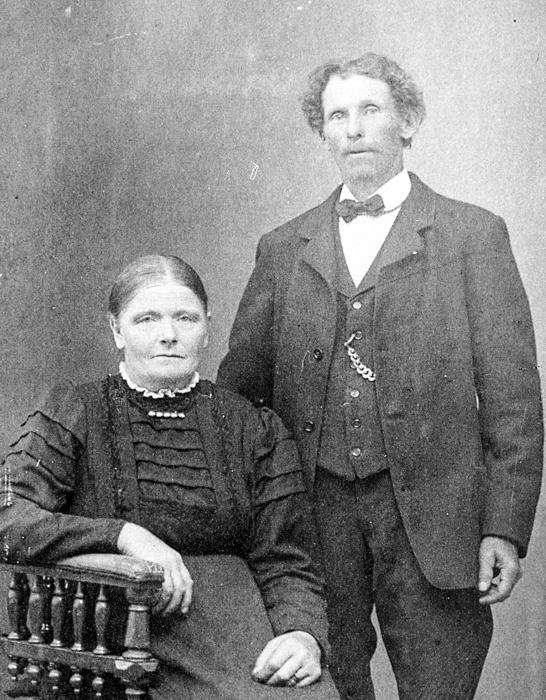 Familjen Albert& Johanna Tollsten Gamla Vikmanshyttan