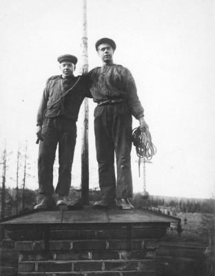 Verner Hagman och Sigvard Persson