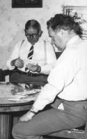 Far & son Landström, Gustav & Nils